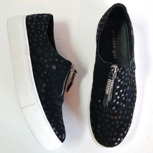 Madden Girl Kudos Shining star platform sneakers
